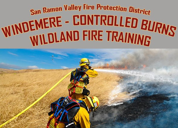 Controlled Burns at Camp Parks