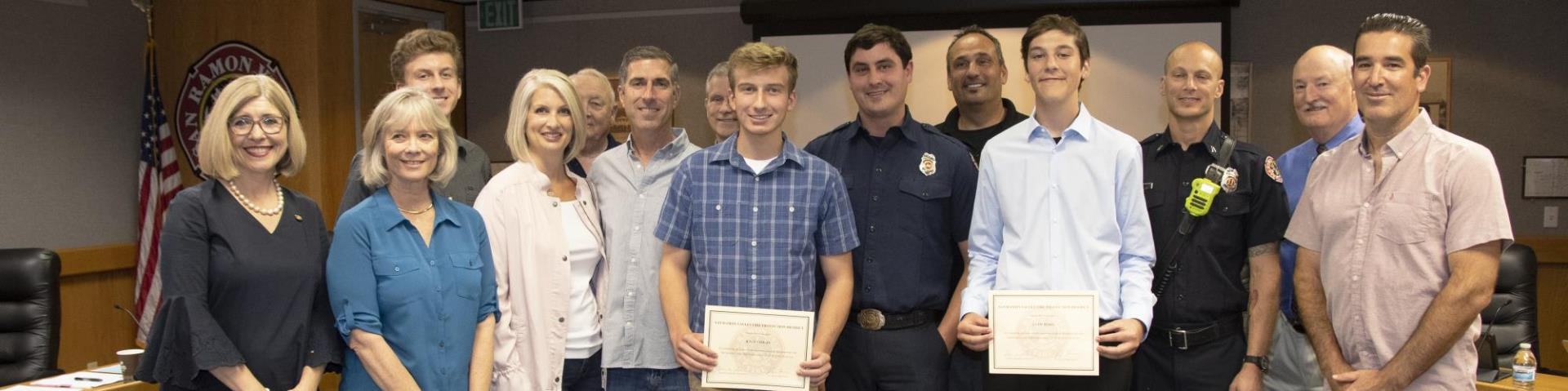iQuest Students Honored at June Board Meeting