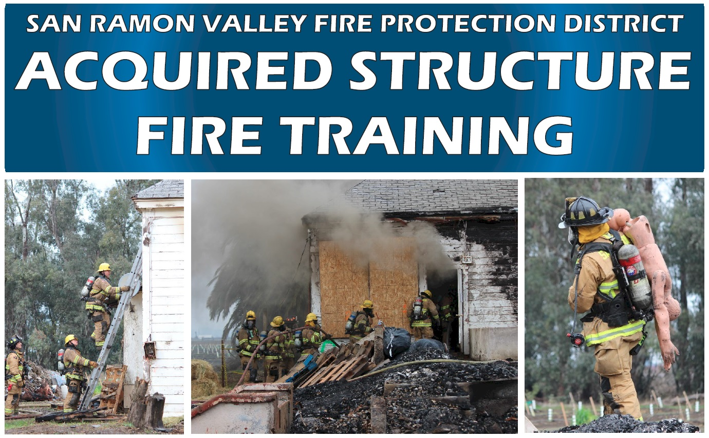 Donated Structure Fire Training