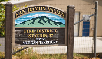 Fire Station 37 Sign